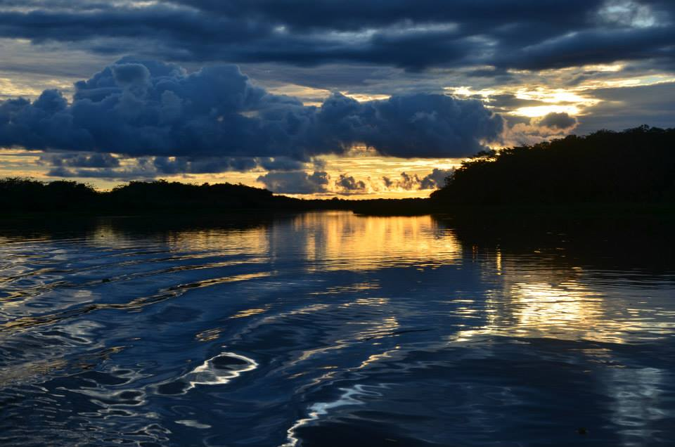 Sonnenuntergang Amazonas