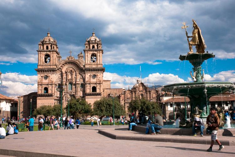 Plaza del armas Cusco