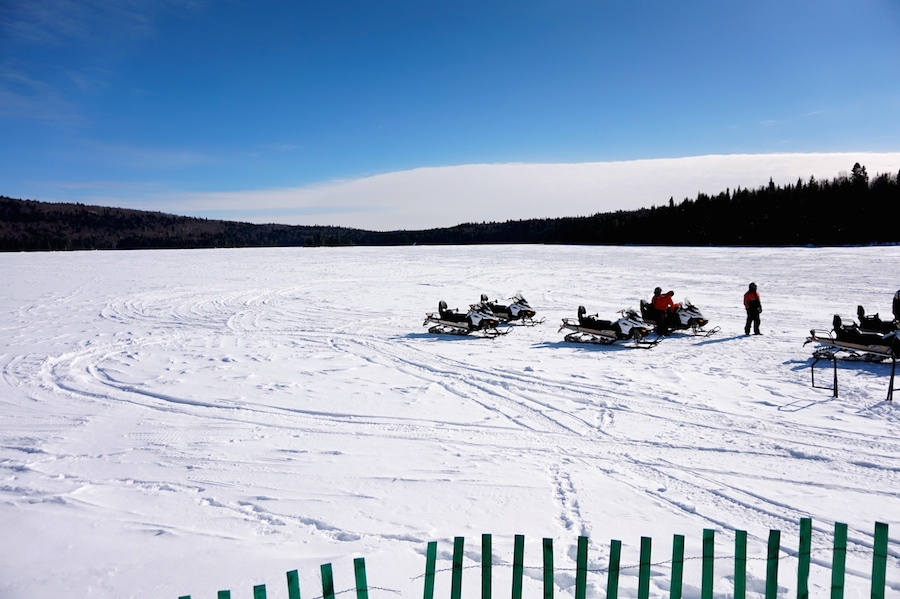 Schneemobil Quebec