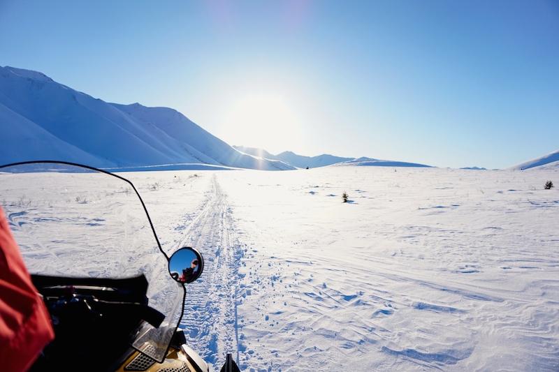 Schneemobil Yukon