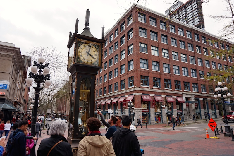 Steam Clock Vancouver