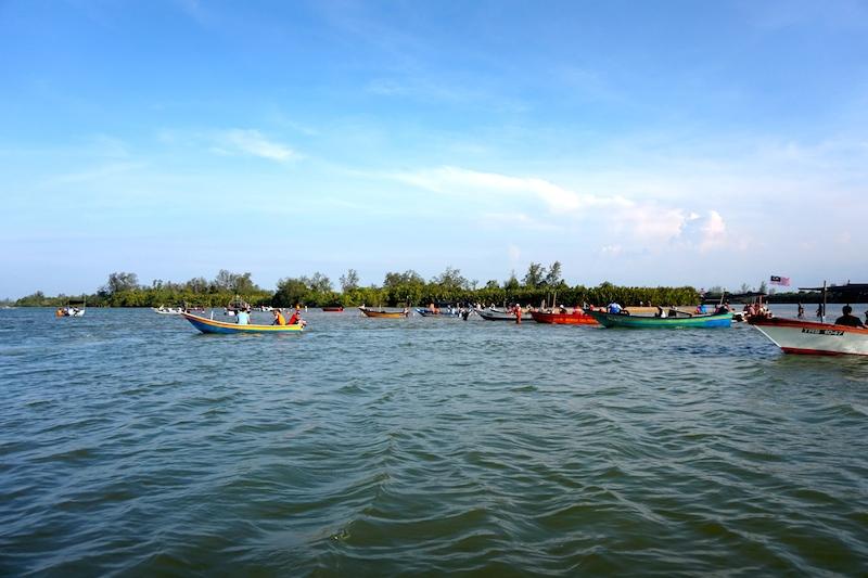 Setiu Fluss Malaysia