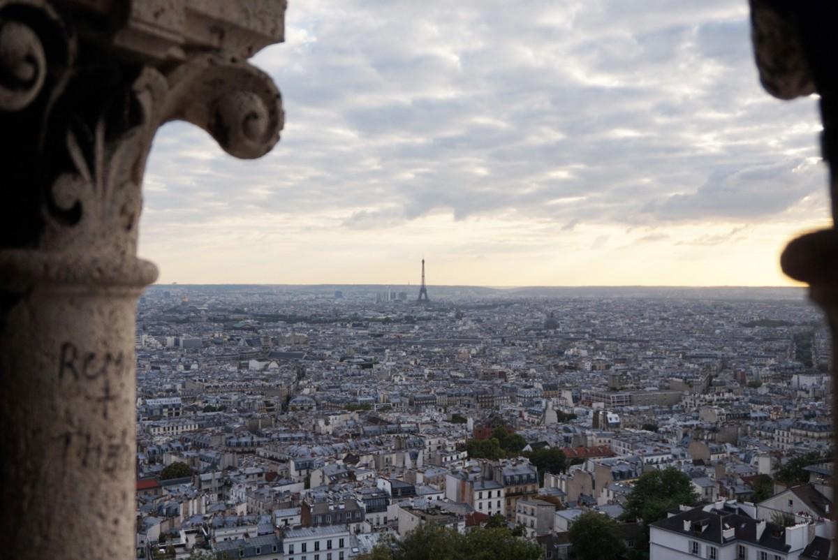Aussicht Sacre-Coeur