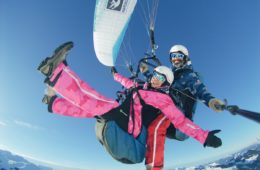 Paragliding in Saalbach